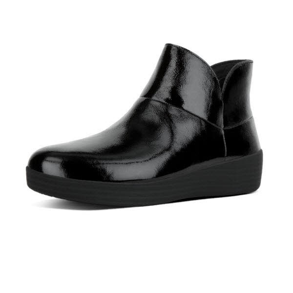 Supermod Black Patent Ankle Boot - Bild 1