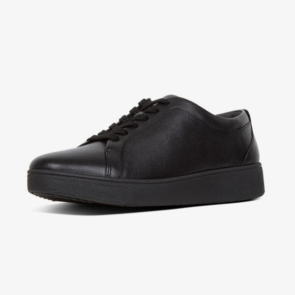 Rally Leather Sneaker All Black